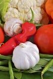 Ingredientes vegetales Fotos de archivo