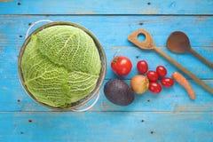 Ingredienti alimentari, cucinanti concetto Fotografie Stock Libere da Diritti