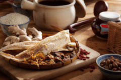 Ingredienti alimentari secchi Fotografia Stock Libera da Diritti