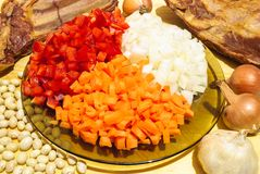 Ingredienti culinari Fotografia Stock