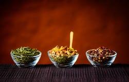 Ingredienti del tè Immagine Stock