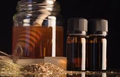 Ingredienti della candela dell'orecchio Fotografia Stock Libera da Diritti