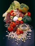 Ingredienti della minestra Fotografie Stock Libere da Diritti