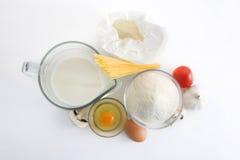 Ingredienti di alimento Fotografie Stock