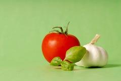 Ingredienti di Pesto Fotografia Stock