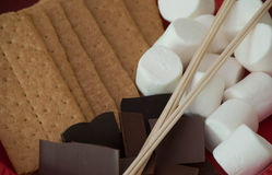 Ingredienti di S'more Immagine Stock