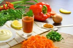 Ingredienti freschi per cucinare Immagine Stock