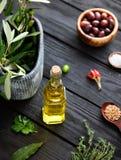 Ingredienti Mediterranei Fotografia Stock