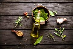 Ingredienti Mediterranei Immagine Stock