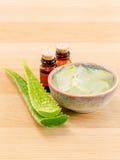Ingredienti naturali delle stazioni termali per cura di pelle Fotografia Stock