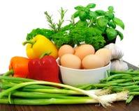 Ingredienti per cucinare Immagini Stock