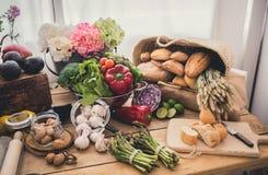 Ingredienti per cucinare Fotografia Stock