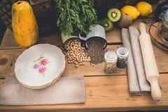Ingredienti per cucinare Immagine Stock Libera da Diritti