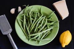 Ingredienti per l'insalata di estate Fotografia Stock Libera da Diritti