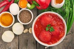 Ingredienti per la cottura dell'alimento sano Immagini Stock