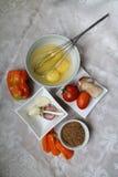 Ingredienti per la prima colazione immagine stock libera da diritti