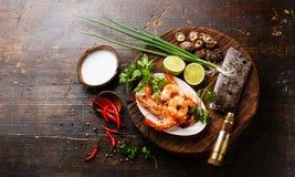 Ingredienti per minestra Tom Yam fotografia stock libera da diritti