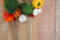 Ingredienti per uno stile di vita sano Fotografia Stock