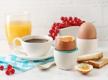 Ingredienti sani della prima colazione Fotografia Stock
