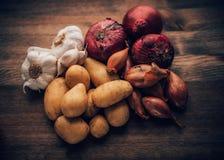 Ingredienti saporiti di vita di Stilll dell'alimento Fotografie Stock Libere da Diritti