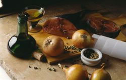 Ingredients. Food, gastronomy,culinary,cookery Royalty Free Stock Images