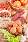 Ingredients Royalty Free Stock Photography