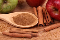 Ingredients of apple pie Royalty Free Stock Photography