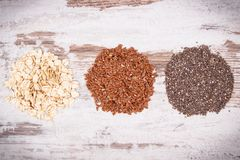 Ingredients as source natural vitamins and dietary fiber, healthy nutrition concept. Ingredients as source vitamins, dietary fiber and natural minerals, concept Stock Photo