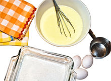 Ingredients for Baking royalty free stock images