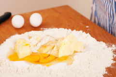 Ingredients for baking Royalty Free Stock Photography