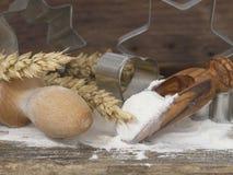 Ingredients for baking Stock Image