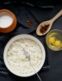 Ingredients for Baking Curd Casseroles