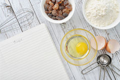 Ingredients for baking Stock Images