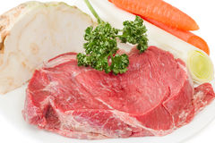 Ingredients for beef stock Stock Images