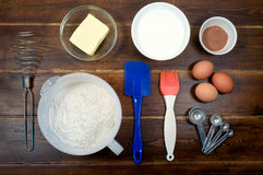 Ingredients for cake Royalty Free Stock Images