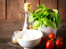 Italian ingredients Stock Photography