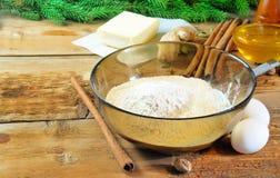 Ingredients for cookies Stock Photo
