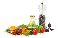 Ingredients for cooking Royalty Free Stock Photo