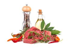 Ingredients for cooking Stock Images