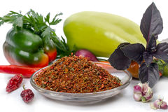 Ingredients for dry spices Stock Images