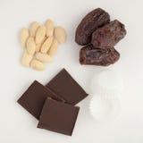 Ingredients for Dubai dates Stock Photo