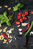 Ingredients For Spaghetti Sauce Stock Photography