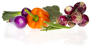 Ingredients: fresh vegetables Stock Photos