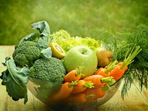 Ingredients for green smoothie Royalty Free Stock Image