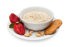 Ingredients for a healthy breakfast Royalty Free Stock Photography