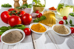Ingredients for a healthy meal Stock Image