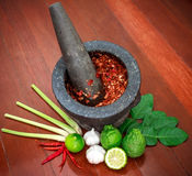 Ingredients the herbs. Ingredients Thailand food The herbs Stock Photos