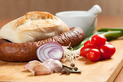 Ingredients homemade breakfast. Royalty Free Stock Photography