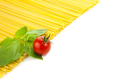Ingredients for Italian cooking Stock Image