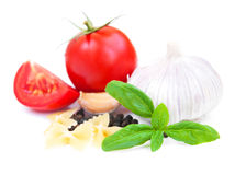 Ingredients for Italian cooking Stock Images